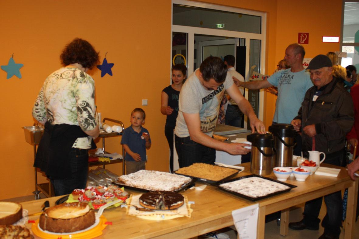 Sommerfest Kuchenbuffet